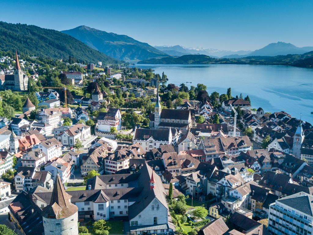 Digitalni dokumenti v mestu Zug v Švici